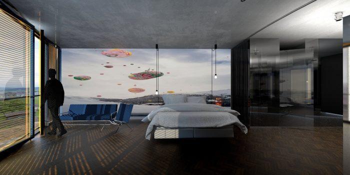inFABric Architecture & Design | Hotel Hirschen | Oberkirch | Switzeland Room | Panorama view | interior design
