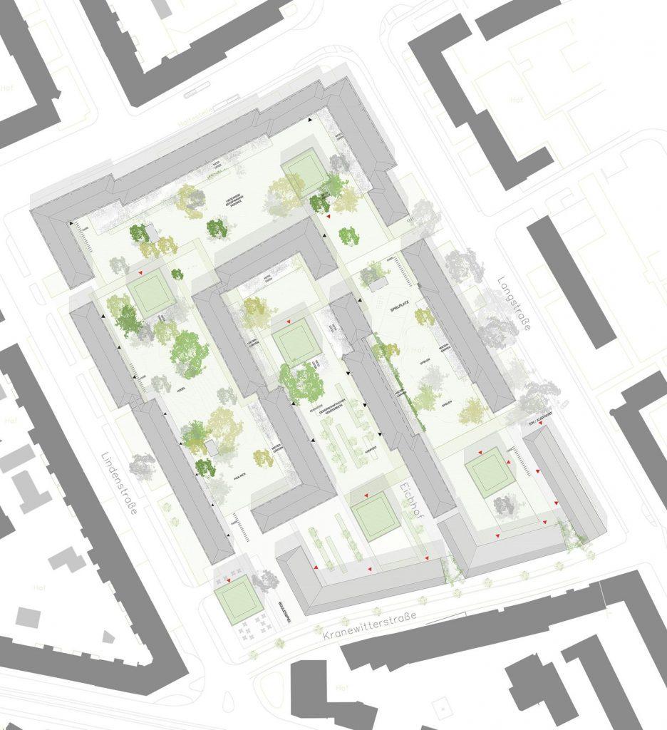 Eichhof-Lageplan