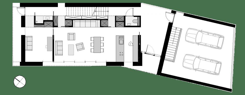 Haus K2 Grundris EG