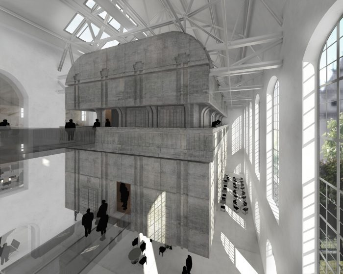 Berlin Marinehaus | EXTENTION Märkisches Museum | inFABric Architecture & Design